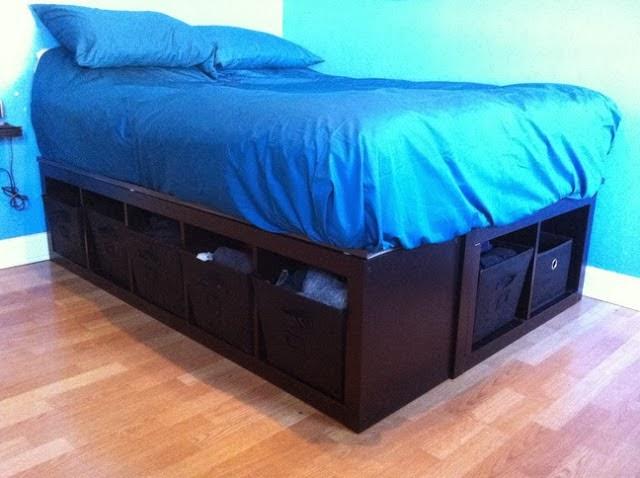 cama hecha con expedit