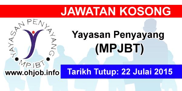 Jawatan Kerja Kosong Yayasan Penyayang Majlis Perbandaran Johor Bahru Tengah logo www.ohjob.info julai 2015