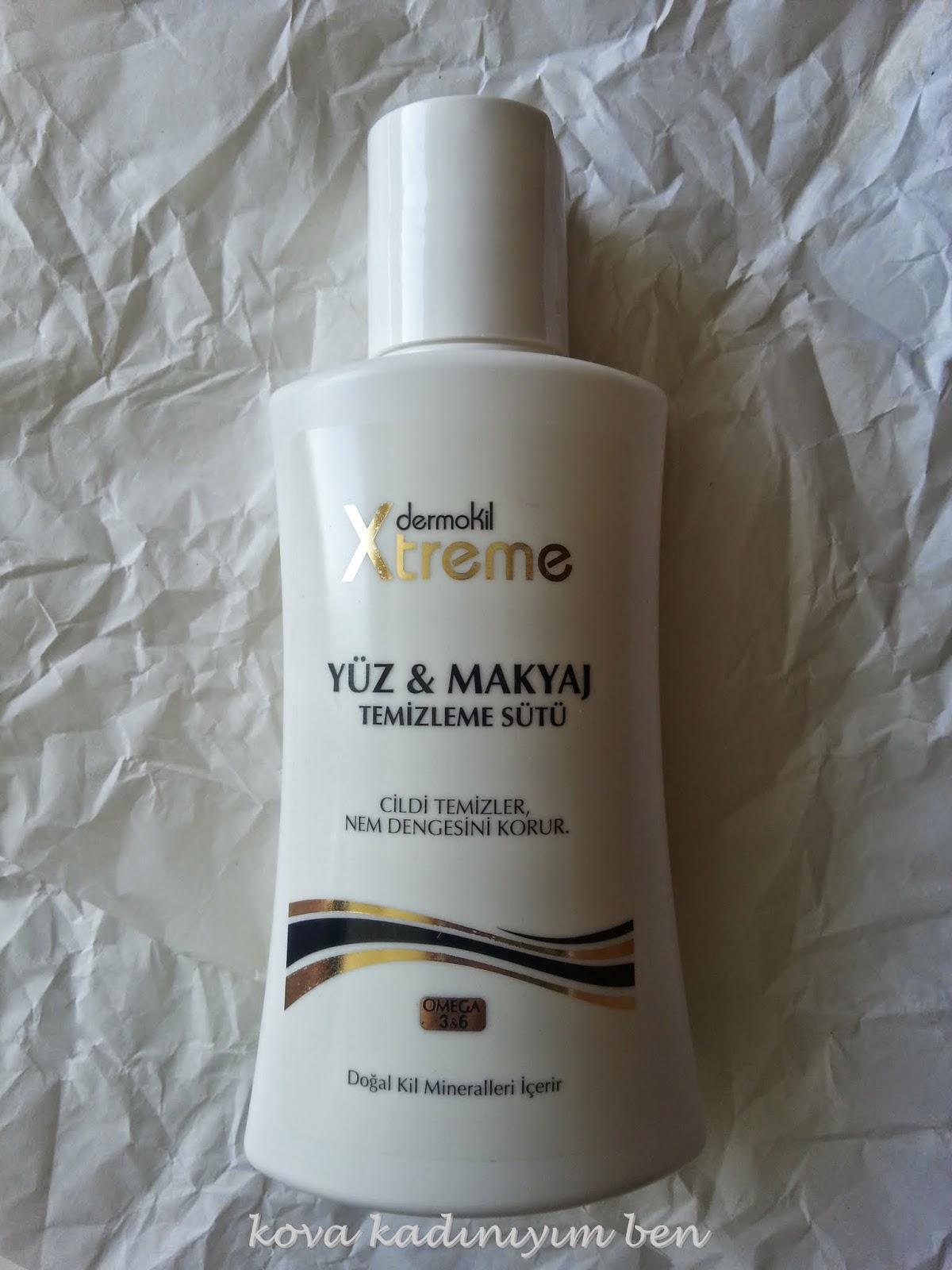 Derrmokil:Yüz ve  Makyaj Temizleme Sütü
