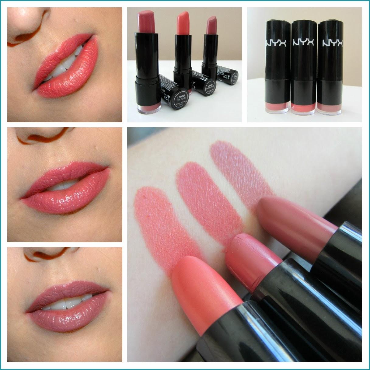 nyx round lipstick makeup review swatches nyx round