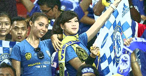 Wakakaka... Chelsea hampir dimalukan skuad simpanan Malaysia