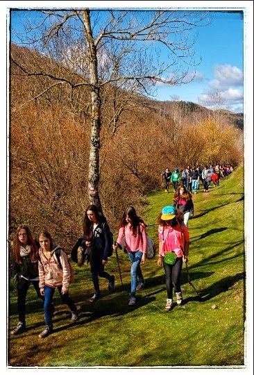 Actividades de interpretación de la naturaleza con escolares