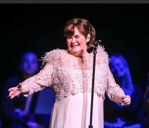 Susan Boyle in Durham, NC, Oct 29, 2014