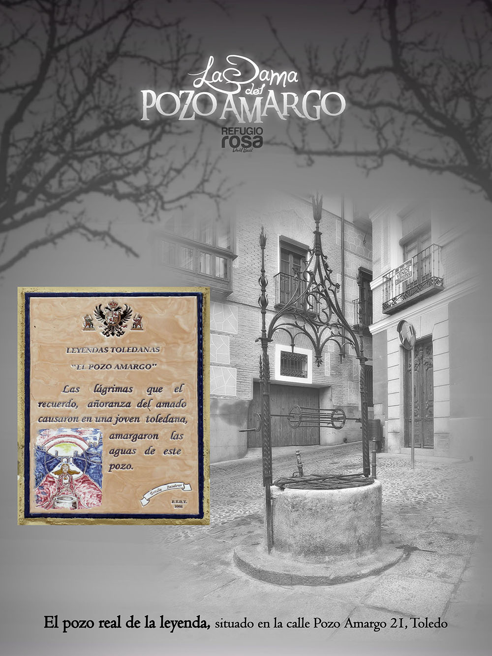 Pozo de la leyenda de La Dama del Pozo Amargo (The Lady of Bitter Well )