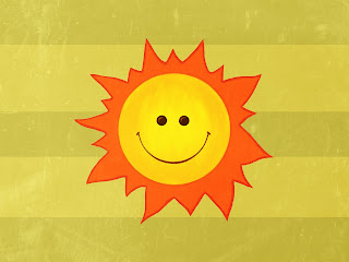 Happy Sun wallpaper