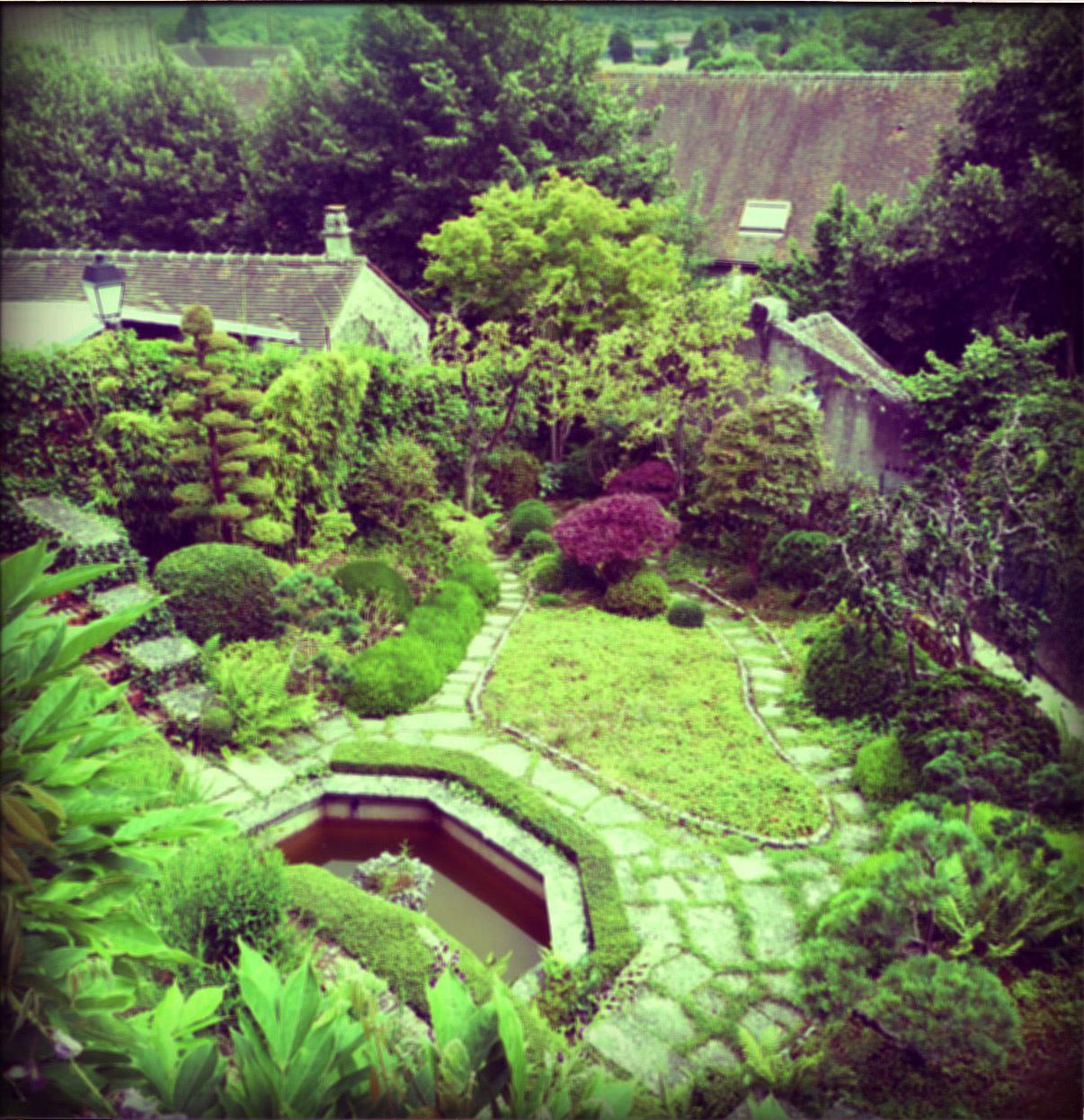Mobilier de jardin japonais for Plan jardin japonais