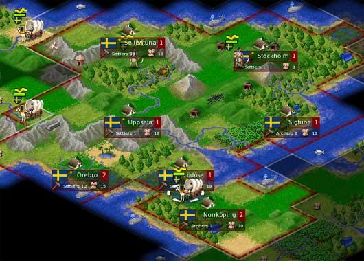 FreeCiv jogo PC
