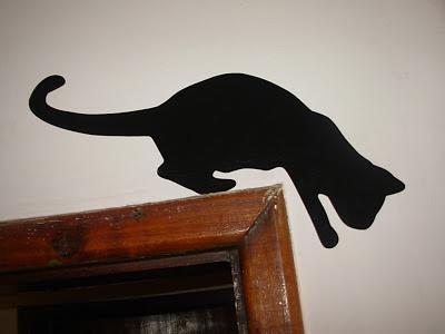 adesivo de vinil gatinho