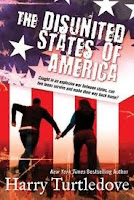 book cover of Disunited States of America by Harry Turtledove published by Tor Teen