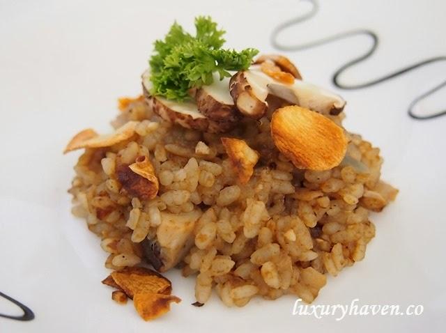 truffle oil mushroom risotto recipes