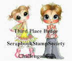 3e Prijs bij Scrapbook Stamp Society 9-7-2017