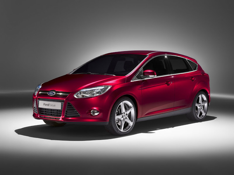 2011 Red Ford Focus