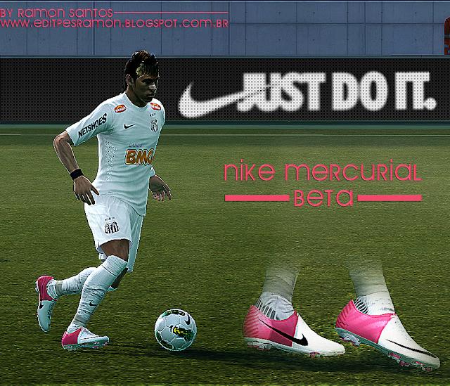 PES 2012: Chuteira Nike Mercurial Beta