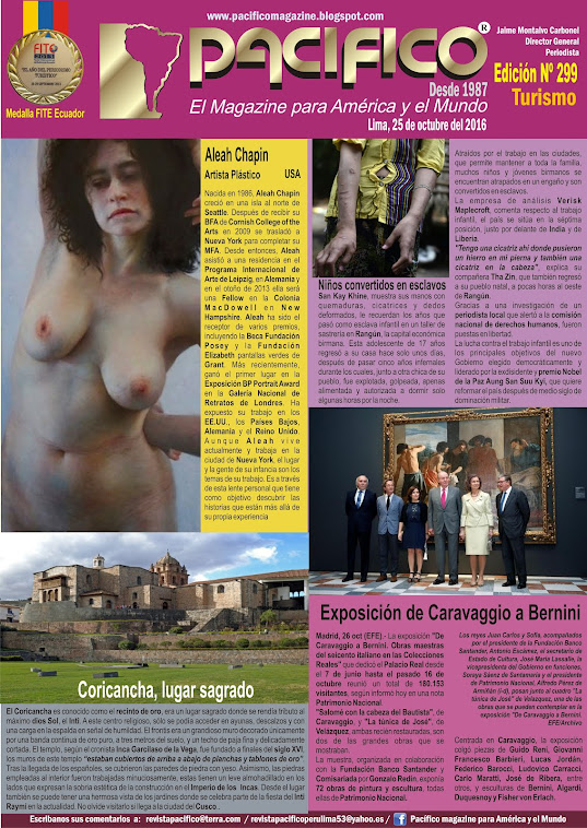 Revista Pacífico Nº 299 Turismo
