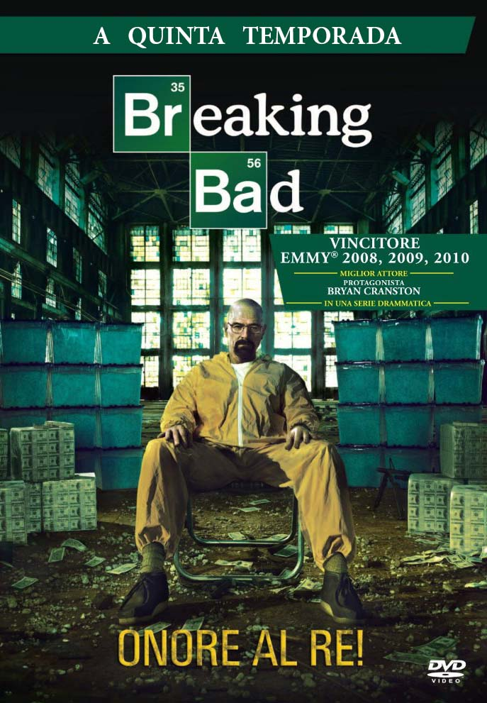 Breaking Bad 5ª Temporada Torrent - BluRay 720p Dual Áudio