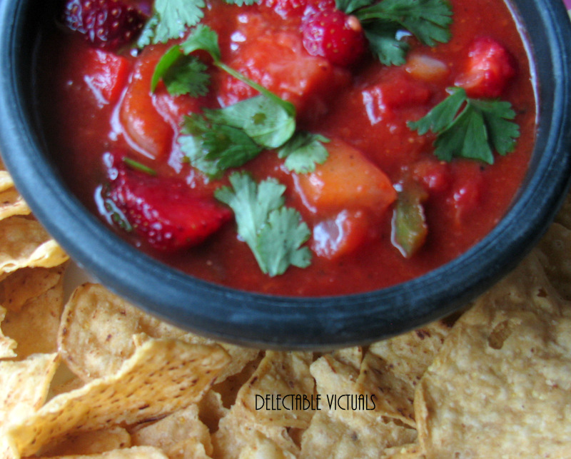 Home Garden Strawberry Salsa