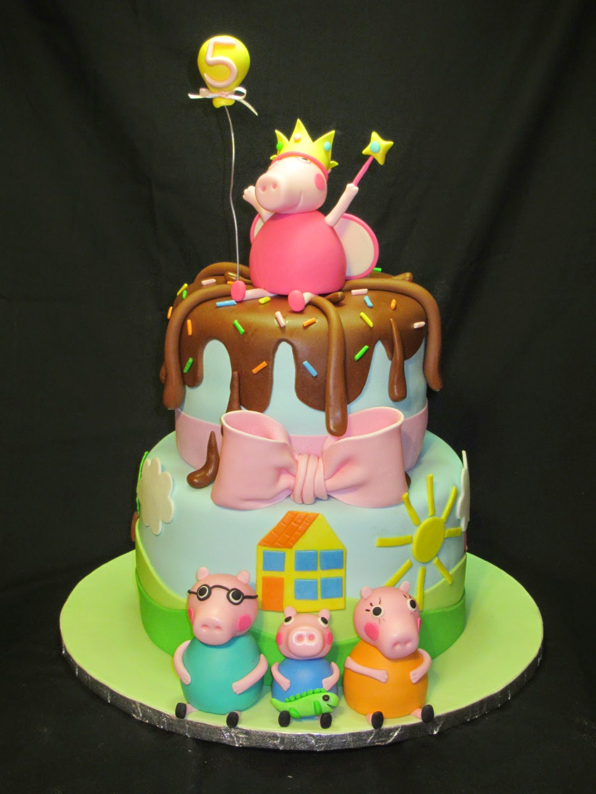 Cakes By Kristen H Peppa Pig Cake