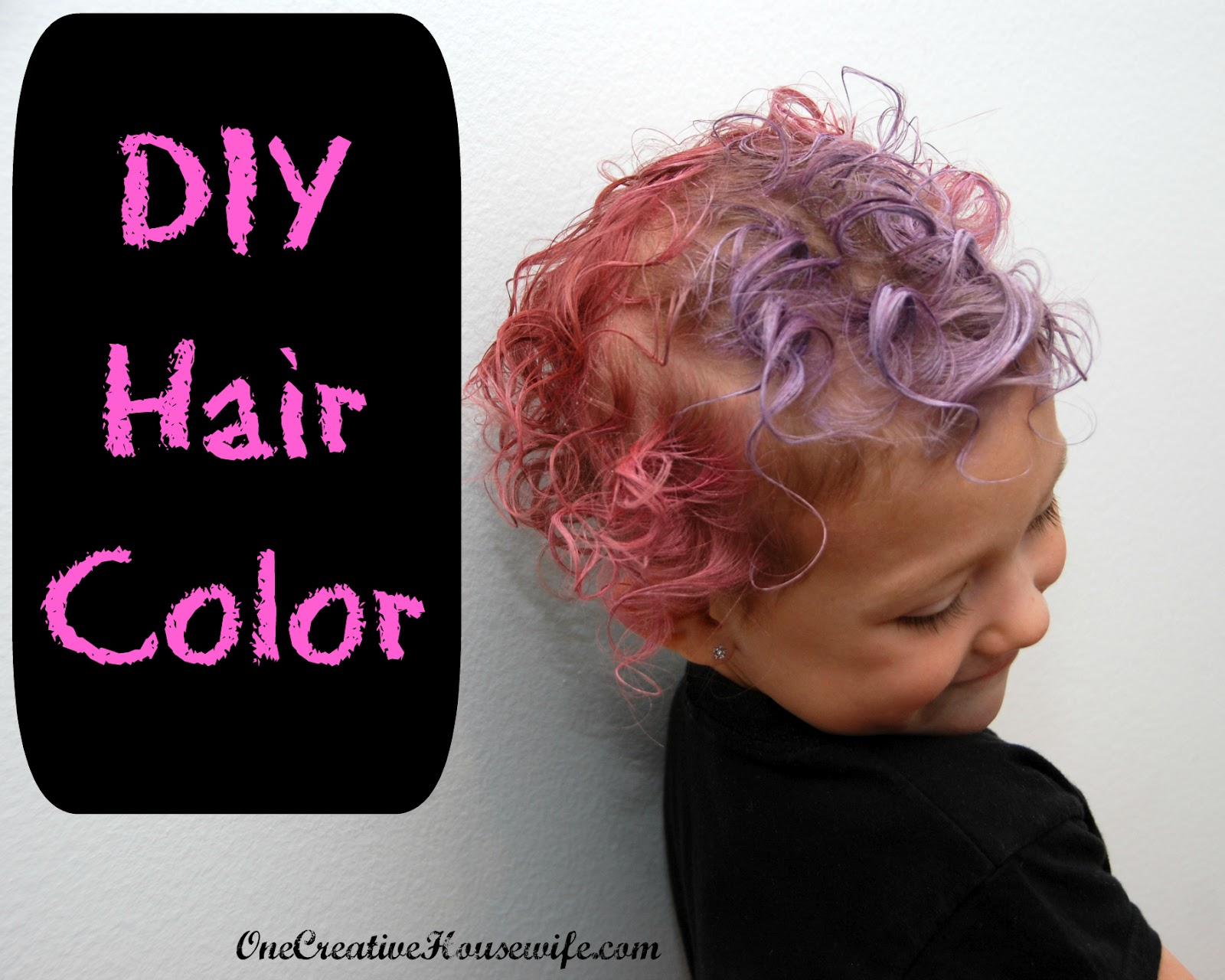 One Creative Housewife: DIY Hair Color