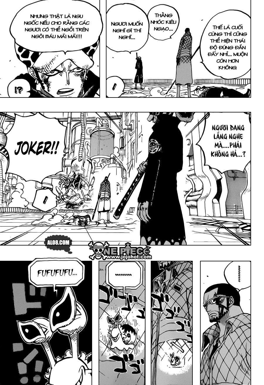 One Piece Chapter 690: SAD 013