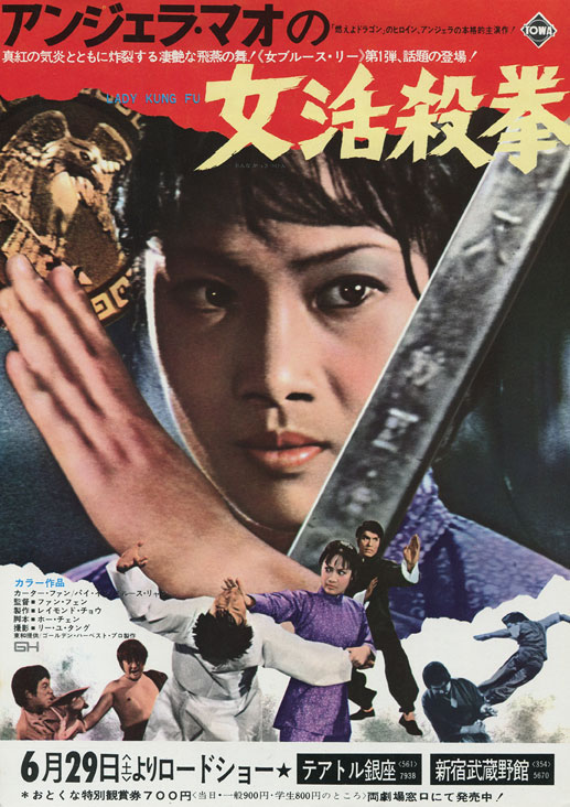 Angela Mao Lady Kung Fu Asian Film Poster