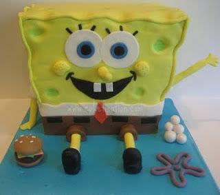 Bakeworld Talks How to make a Spongebob cake