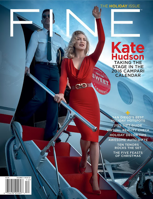 Actress, @ Kate Hudson - FINE Magazine, December 2015