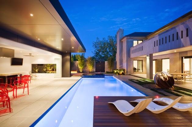 casa casas de diseno con piscina diseo de interiores u with piscinas diseo - Piscinas Diseo