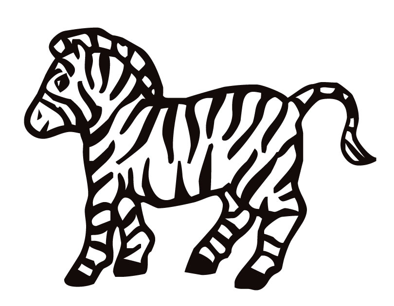 Zebra Coloring Pages Patterns  Patterns Kid