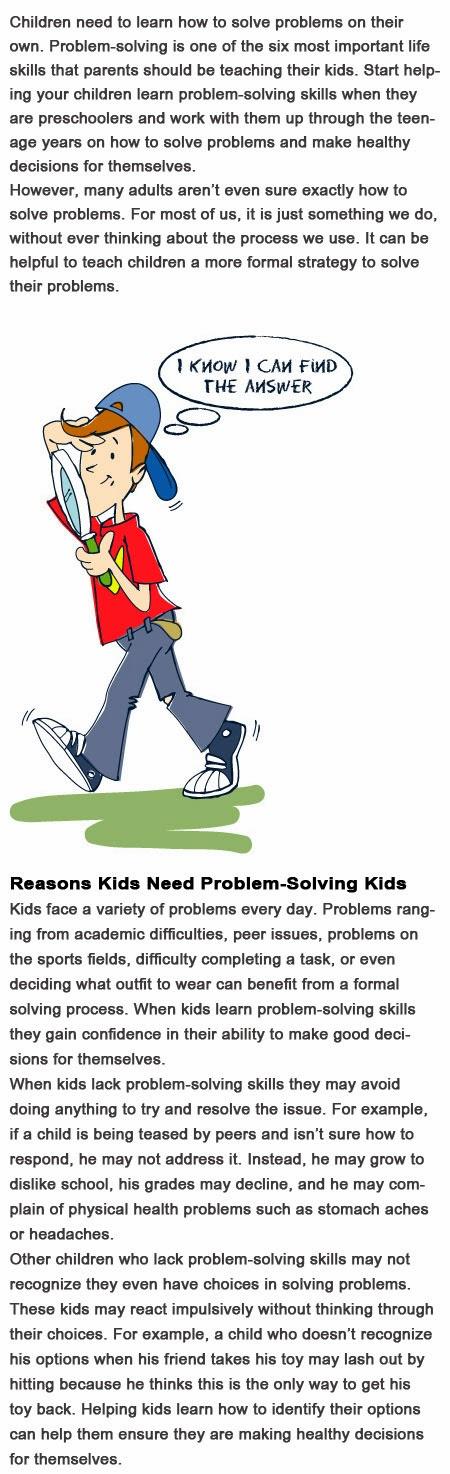 Problem solving for kids