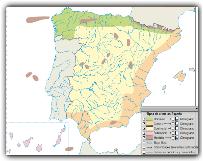 MAPA INTERACTIVO DE LOS CLIMAS DE ESPAÑA
