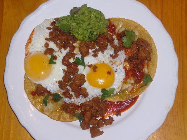 ... huevos rancheros huevos rancheros with chorizo huevos rancheros with