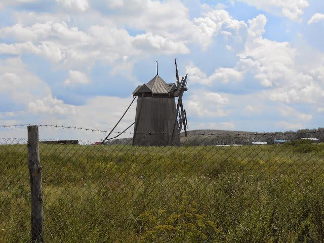 Аркаимская ветряная мельница