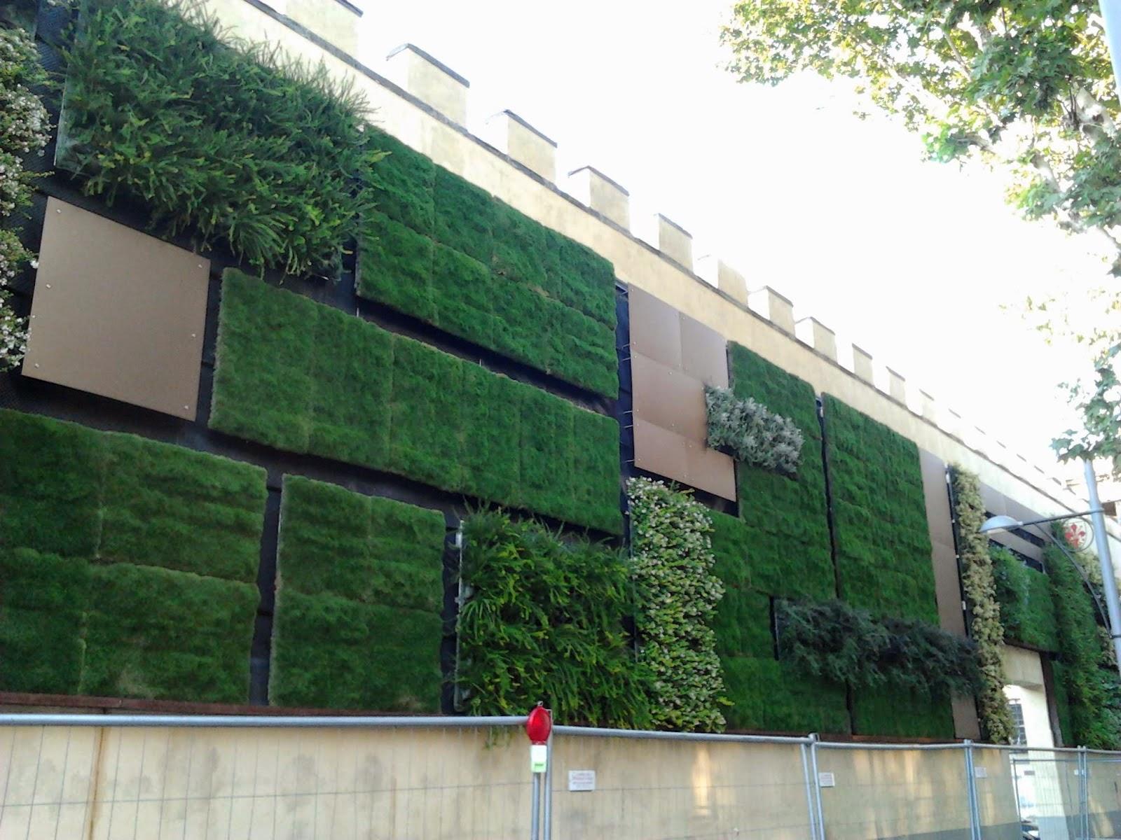 Il giardino delle naiadi soluzioni architettoniche verde - Moduli per giardino verticale ...