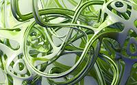 1600x1200, 3D, Green Slime