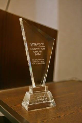 KPM Menang Anugerah Inovasi VMWARE di VMworld 2014