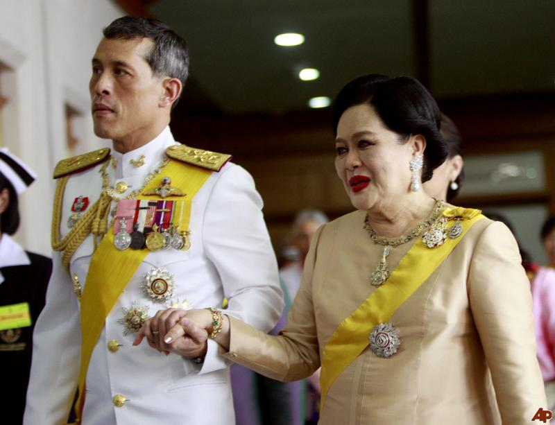 Thailand Crown Prince'S Son http://rudebutgood.blogspot.com/2011/12/queen-sirikit-of-thailand.html