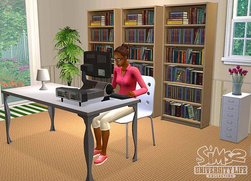 The Sims 2 University screenshots