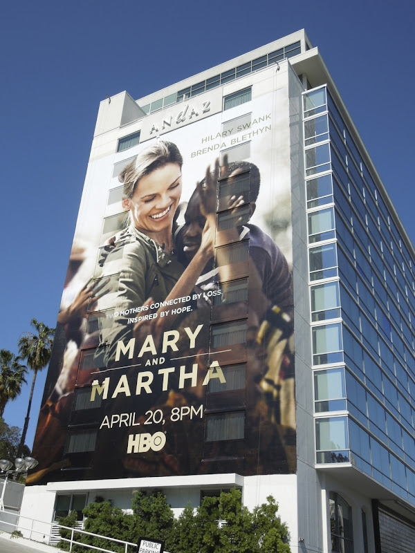 Mary Martha billboard