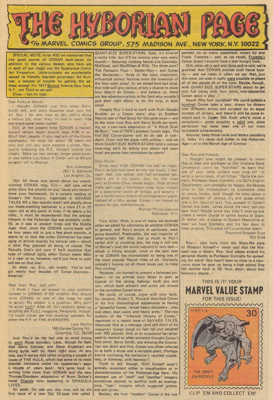 Conan the Barbarian (1970) Issue #38 #50 - English 14