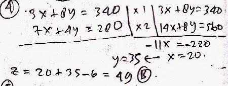 cara menentukan nilai maksimum
