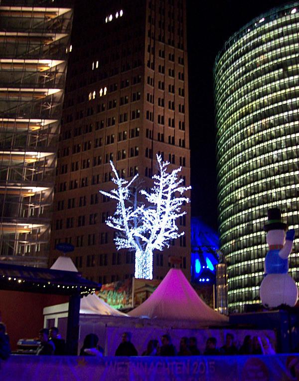 Weihnachtsbeleuchtung Potsdamer Platz