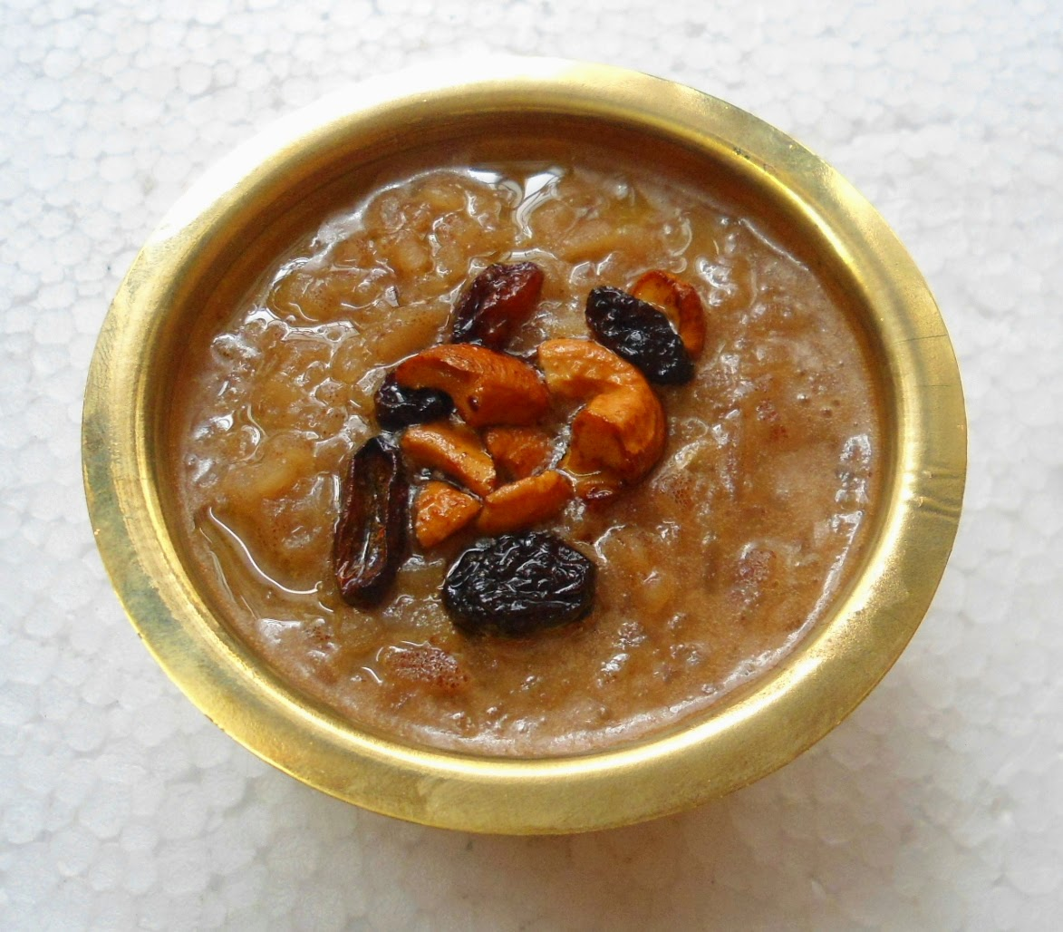 Red Aval/Rice flakes payasam