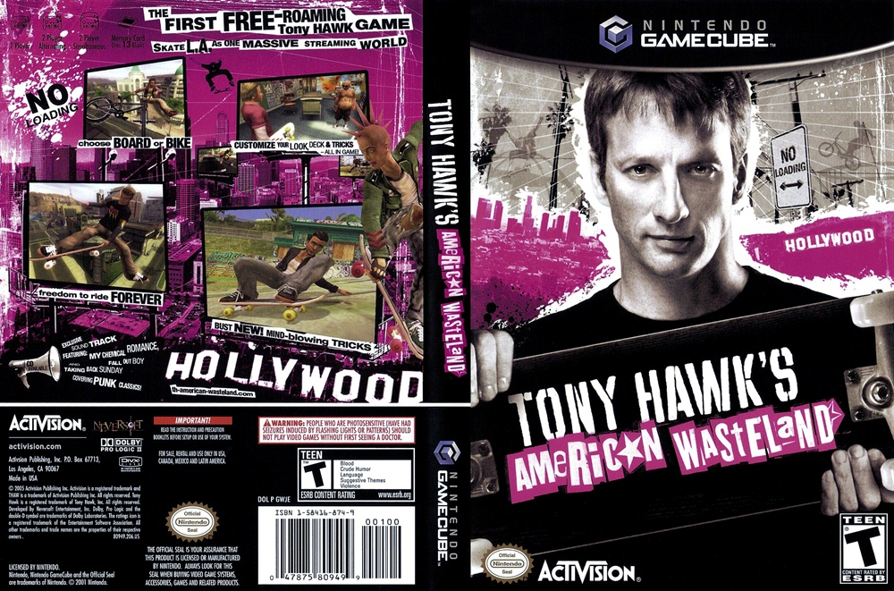 Tony Hawk's American Wasteland PC Download Poster