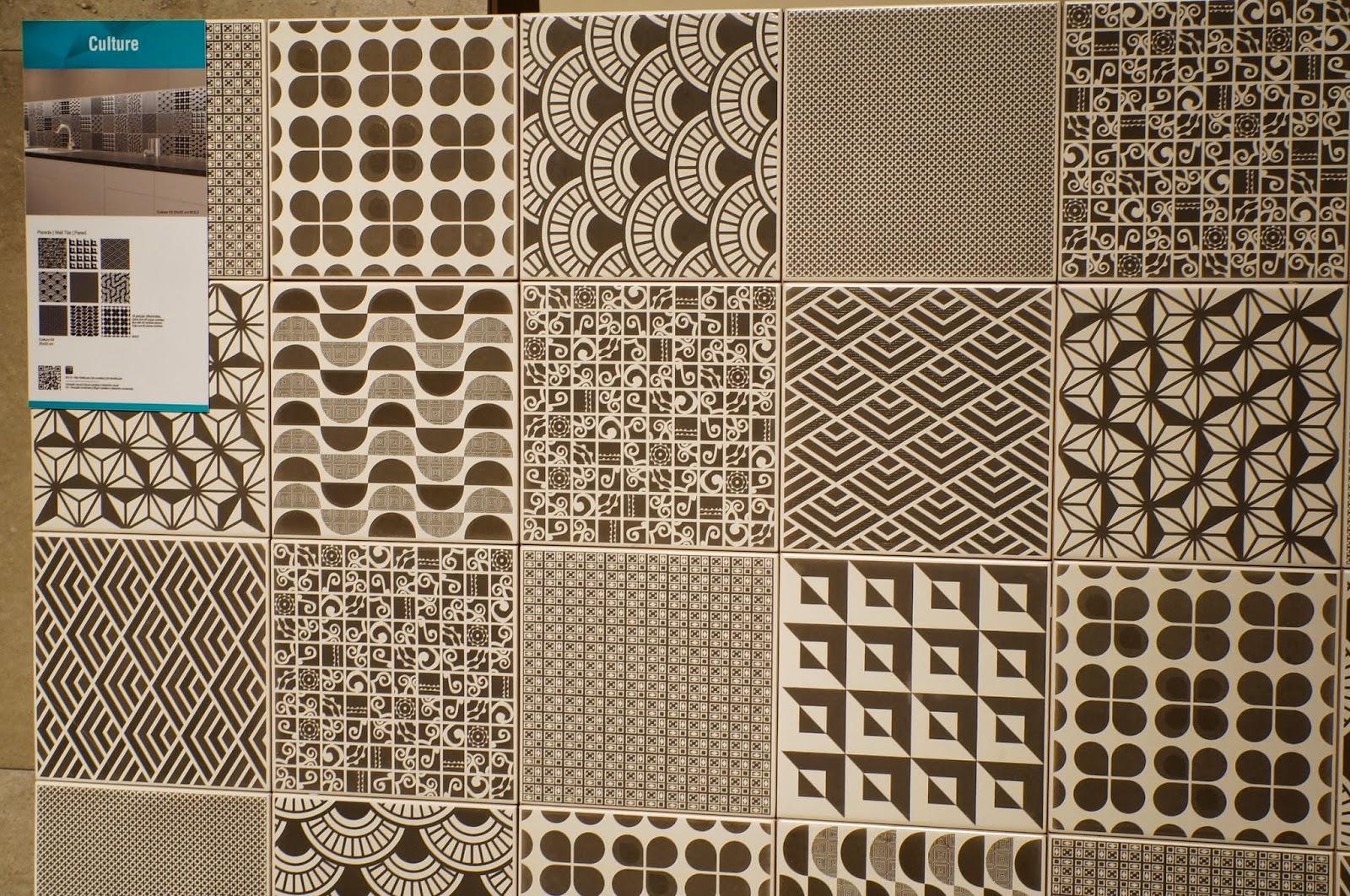 azulejos da linha Culture - lançamentos 2015 da Cerâmica Portinari