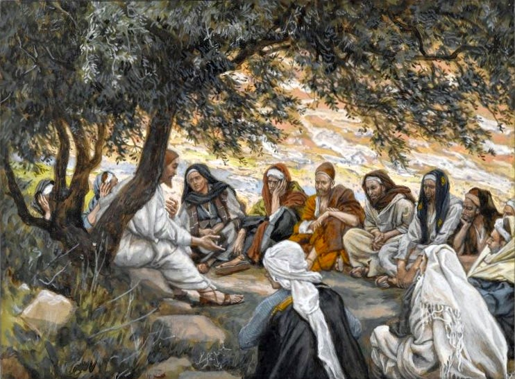http://commons.wikimedia.org/wiki/File:Brooklyn_Museum_-_The_Exhortation_to_the_Apostles_(Recommandation_aux_apôtres)_-_James_Tissot.jpg