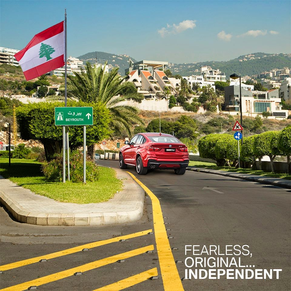 BMW Lebanon Independence Day