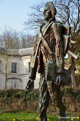 Auvers sur Oise - Van Gogh par Zadkine