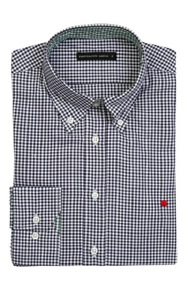 Camisa de cuadros de vichy de Purificación García - Un tipo con ... f6ba25f5713
