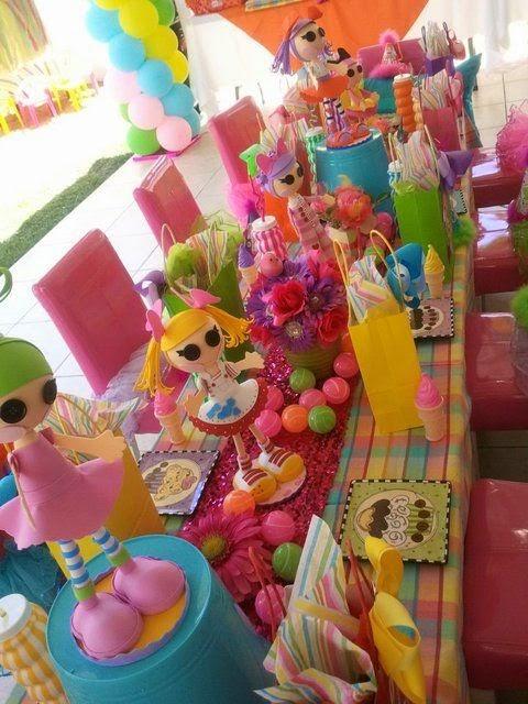 Fiesta Temática con las Muñecas Lalaloopsy