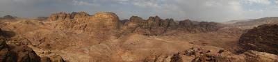 Panorámica de Petra - Viaje a Jordania